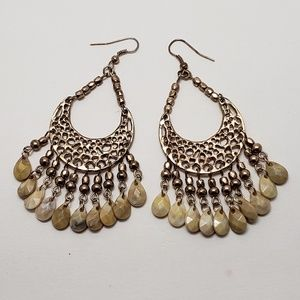 Jewelry - Cascading Beaded Earrings
